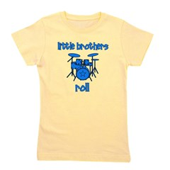 drums_littlebrothersroll_BLUE.png Girl's Tee