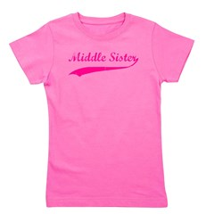 middlesister_pink.png Girl's Tee