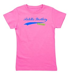 middlebrother_blue_again.png Girl's Tee