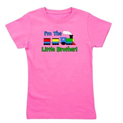 train_imthelittlebrother.png Girl's Tee