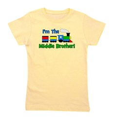 train_imthemiddlebrother.png Girl's Tee