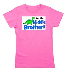 imthemiddlebrother.png Girl's Tee