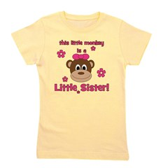 thislittlemonkey_littlesister_girl.png Girl's Tee
