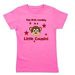 thislittlemonkey_littlecousin.png Girl's Tee