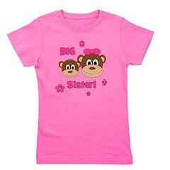 Monkey_Girl_BigSister.png Girl's Tee