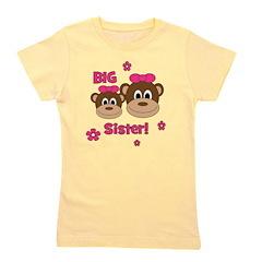 Monkey_Girl_BigSister_girl.png Girl's Tee