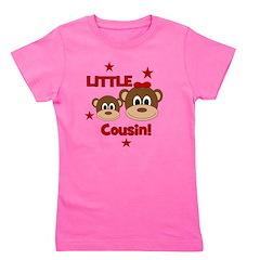 2-Monkey_LittleCousin_girl.png Girl's Tee