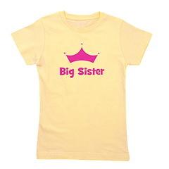 bigsister_crown.png Girl's Tee