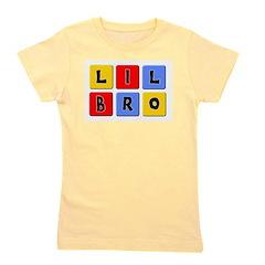 lilbroblocks.png Girl's Tee