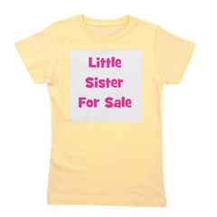littlesisterforsale_pink.png Girl's Tee