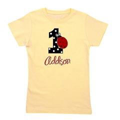 ADDISON Ladybug 1st Birthday 1 Girl's Tee
