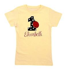 ELIZABETH Ladybug 1st Birthday 1 Girl's Tee