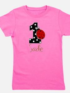 1 Ladybug SADIE - Custom Girl's Tee