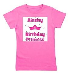 birthdayprincess_1st_AINSLEY.png Girl's Tee