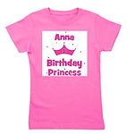 birthdayprincess_1st_ANNA.png Girl's Tee