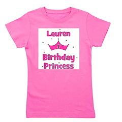 birthdayprincess_1st_LAUREN.png Girl's Tee