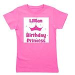 birthdayprincess_1st_LILLIAN.png Girl's Tee