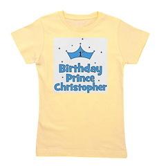 birthdayprince_1st_CHRISTOPHER.png Girl's Tee