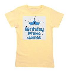 birthdayprince_1st_JAMES.png Girl's Tee