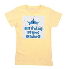 birthdayprince_1st_MICHAEL.png Girl's Tee