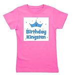 birthday1st_Kingsten.png Girl's Tee