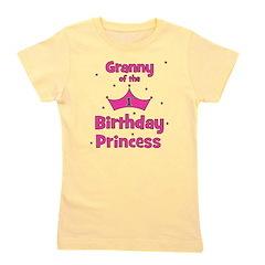 ofthebirthdayprincess_granny.png Girl's Tee