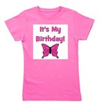 itsmybirthday_pink_butterfly.png Girl's Tee
