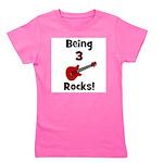 being3rocks.png Girl's Tee