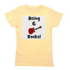 being6rocks.png Girl's Tee