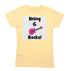 being6rocks_pink.png Girl's Tee