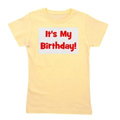 itsmybirthday_red.png Girl's Tee