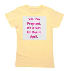 pregnant_girl_april_TR.png Girl's Tee