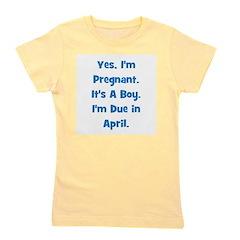 pregnant_boy_april_TR.png Girl's Tee