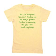 surprise_january_belly.png Girl's Tee