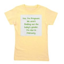 pregnant_february_TR.png Girl's Tee