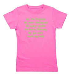 surprise_february_belly.png Girl's Tee