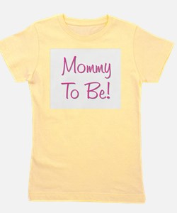 mommytobe_pink2.png Girl's Tee