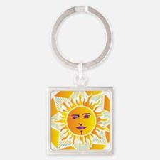Smiling Sun Keychains