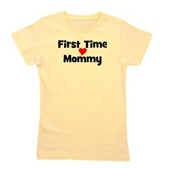 firsttimemommy_TR.png Girl's Tee