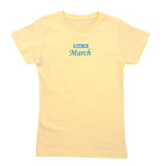 dueinmarch_blue_TR.png Girl's Tee