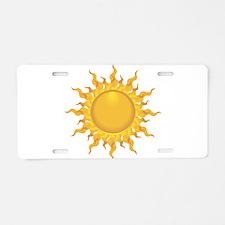 Sun Aluminum License Plate