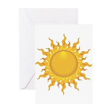 Sun Greeting Cards