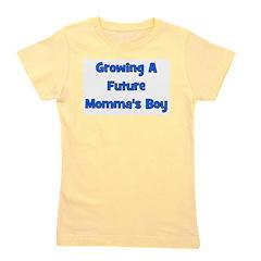 growingafuturemommasboy.png Girl's Tee