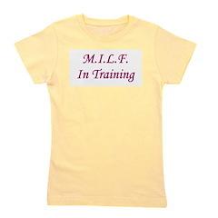milfintraining.png Girl's Tee