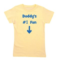 daddys1fan.png Girl's Tee