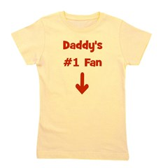 daddys1fan_red.png Girl's Tee