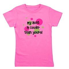 myauntiscoolerthanyours_pinkcircles.png Girl's Tee
