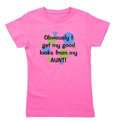 obviously_aunt_boy.png Girl's Tee