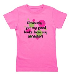 obviously_mommy_girl.png Girl's Tee
