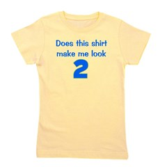 doesthisshirtmakemelook_2_blue.png Girl's Tee